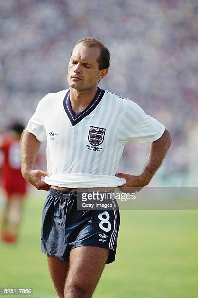 England player Ray Wilkins is sent off during the 00 draw against Morocco in the group stage of the 1986 FIFA World Cup on June 6 1986 in Monterrey...