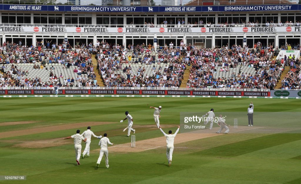 England v India: Specsavers 1st Test - Day Four : Photo d'actualité