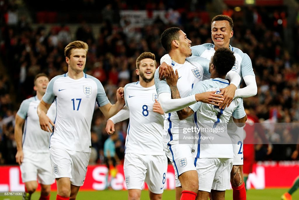 England v Portugal - International Friendly Match : News Photo
