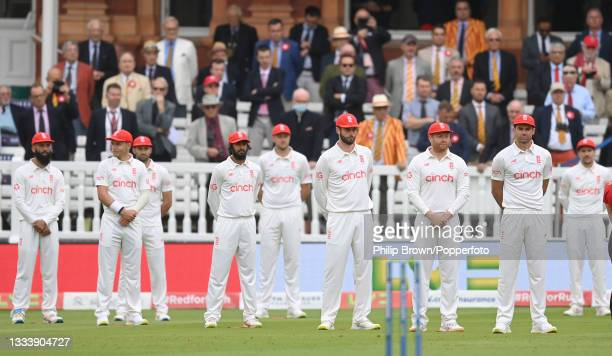England players including Moeen Ali, Sam Curran, Mark Wood, Haseeb Hameed, Ollie Robinson, Dom Sibley, Jonny Bairstow, James Anderson and Rory Burns...