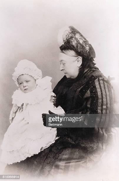 Queen Victoria and Prince Alexander Albert of Battenberg