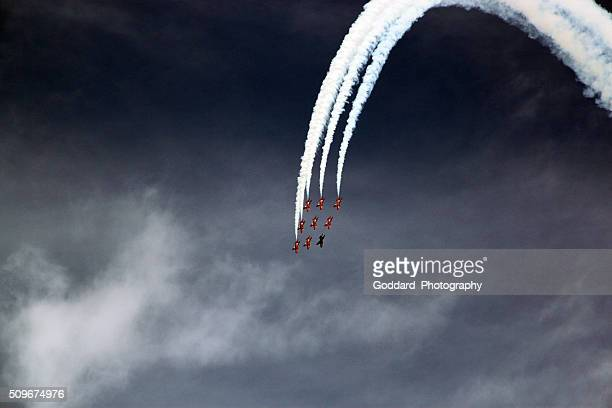 England: Red Arrows at Cromer
