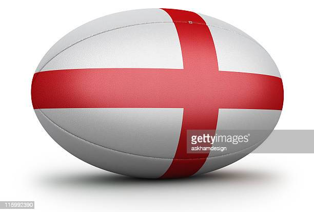 england rugby ball - england rugby stock photos and pictures