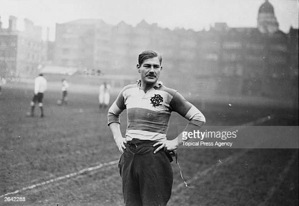 England rugby captain D A Kendrew at Twickenham Original Publication People Disc HH0435