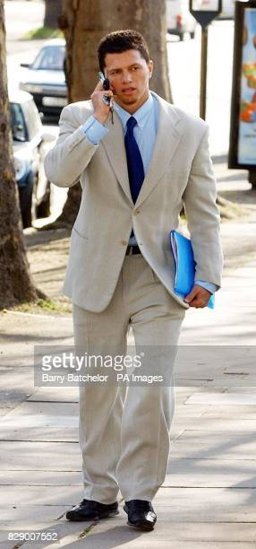 England rugby star Henry Paul arriving at Cheltenham Magistrates Court where he pleaded not guilty to failing to give a breath test after being...