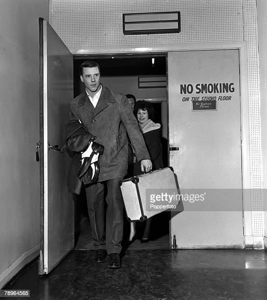 England Singer Marty Wilde is pictured arriving for rehearsals