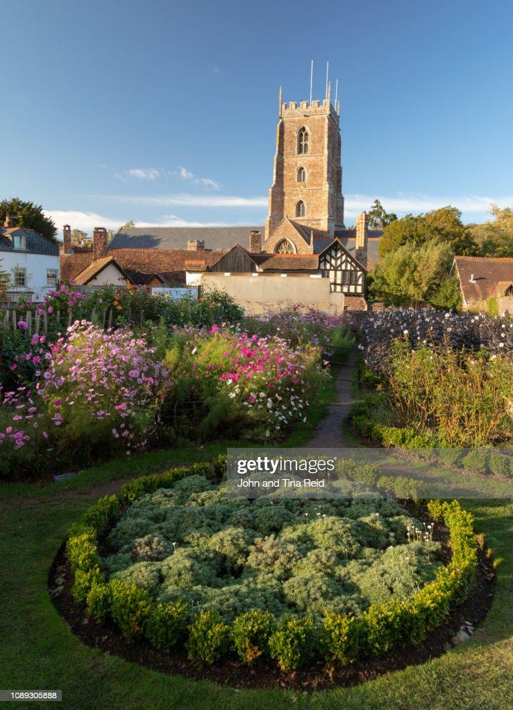 England, Somerset - Dunster Village : Stock Photo
