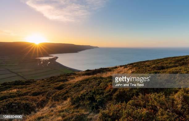 england, somerset - exmoor views - ポーロック ストックフォトと画像