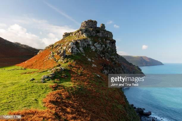 england, somerset - valley of rocks - exmoor national park 個照片及圖片檔