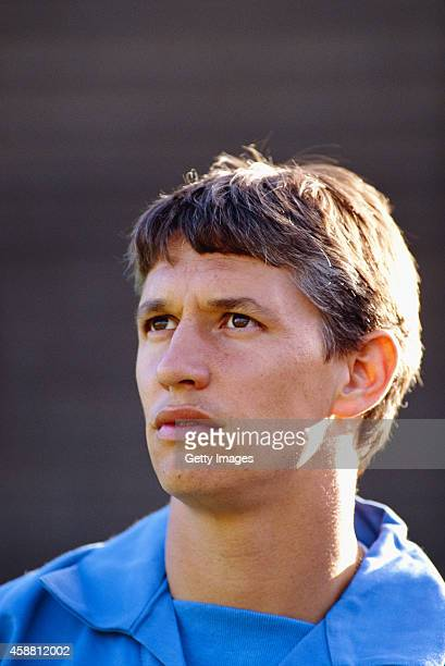 England striker Gary Lineker pictured in 1992