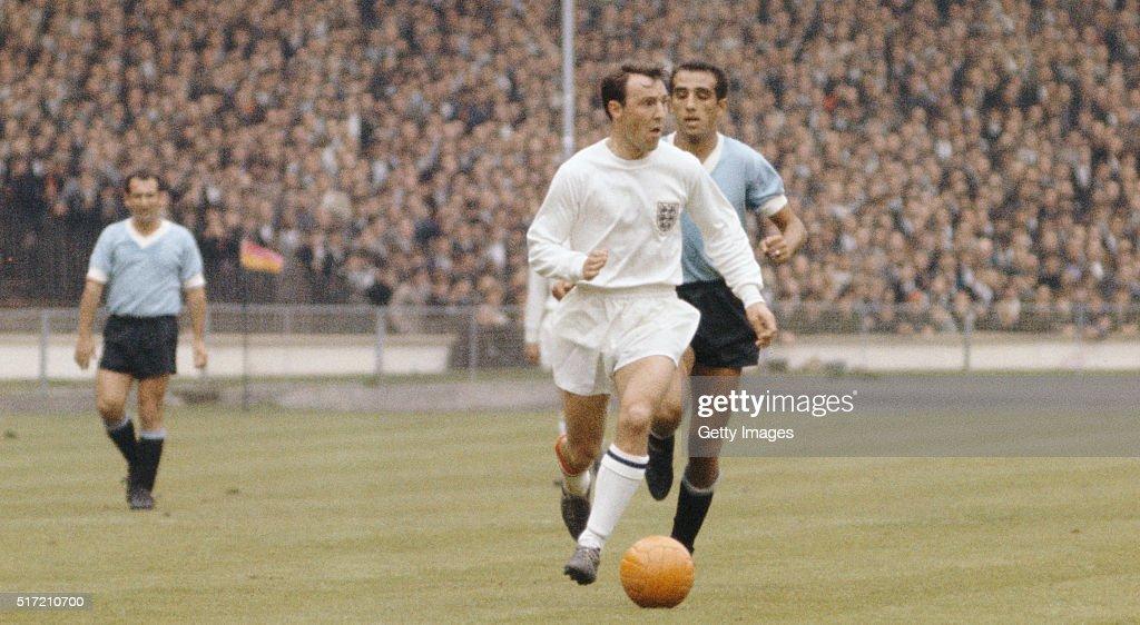 England v Uruguay 1966 FIFA World Cup Finals : News Photo