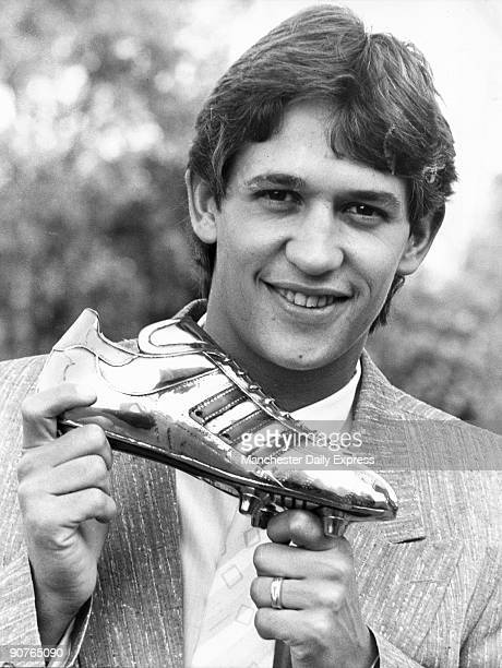 England superstar gets second successive Adidas Golden Shoe award for being last season�s top League marksman. Next month comes the award for topping...
