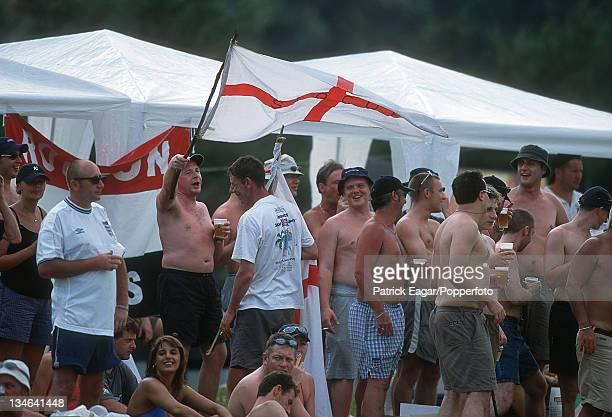 England supporters Sri Lanka v England 1st Test Galle Feb 01