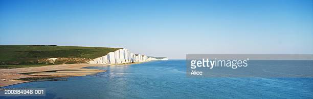 England, Sussex, The Seven Sisters, Cuckmere Haven