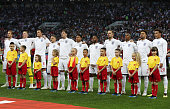 moscow russia england team are seen