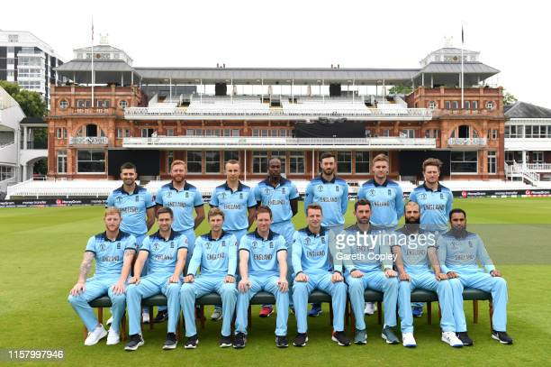 England team at Lords on June 24 2019 in London England