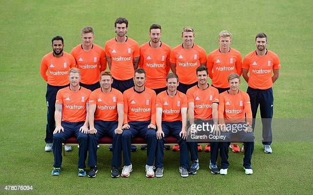 England team at Old Trafford on June 22 2015 in Manchester England