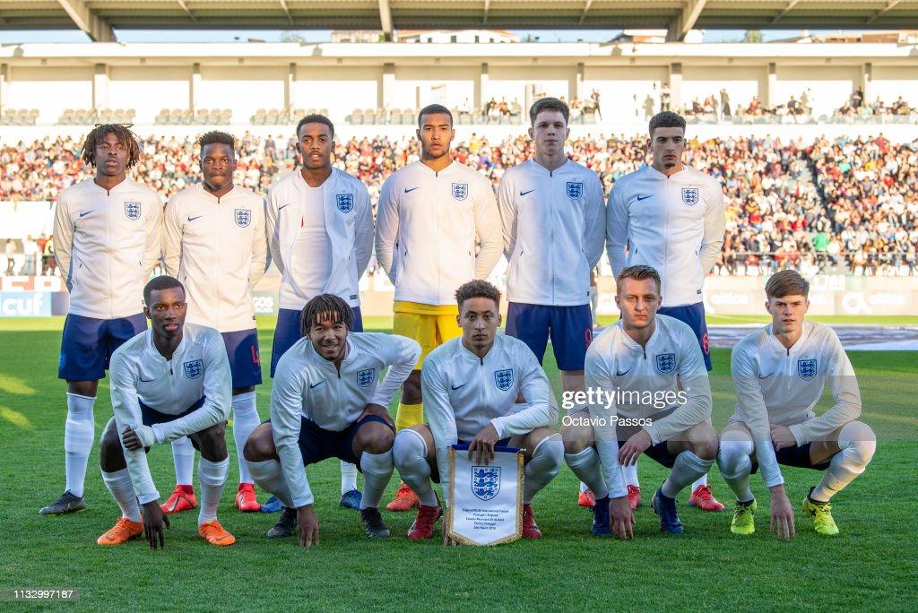 PRT: Portugal U20 v England U20 - International Friendly