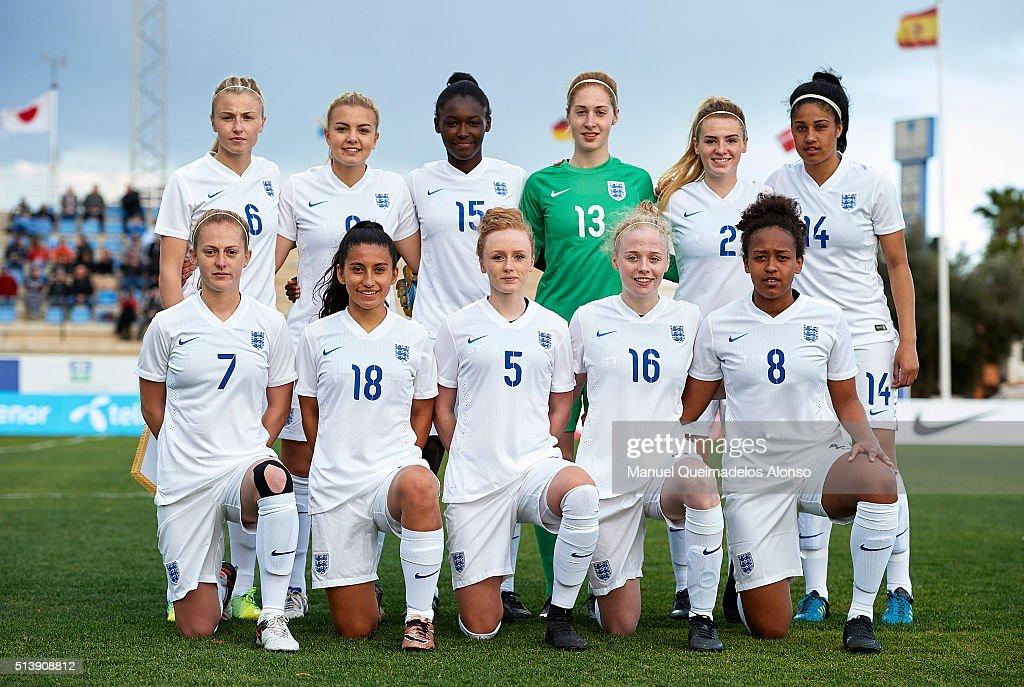 England U19 v USA U19 - International Womens U19 National Teams Tournament : News Photo