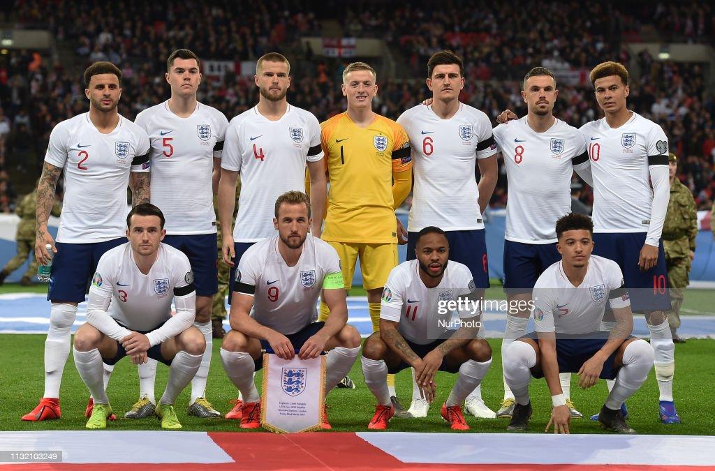England v Czech Republic - UEFA EURO 2020 Qualifier : News Photo