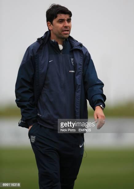 England U16's Head Coach Dan Micciche