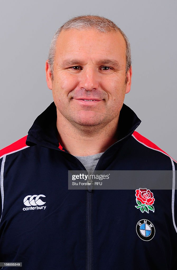 England U18 Rugby Union Headshots : News Photo