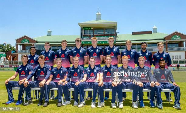 England U19 team ahead of the U/19 Tri Series match between South Africa and England at Senwes Park on December 03 2017 in Potchefstroom South Africa