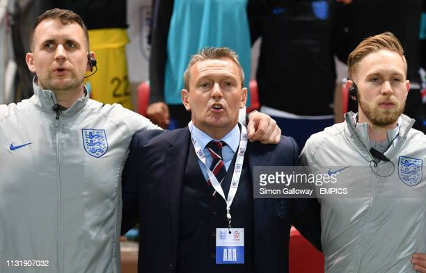 England U21 manager Adiy Boothroyd England U21 v Poland U21 - International Friendly - Ashton Gate .