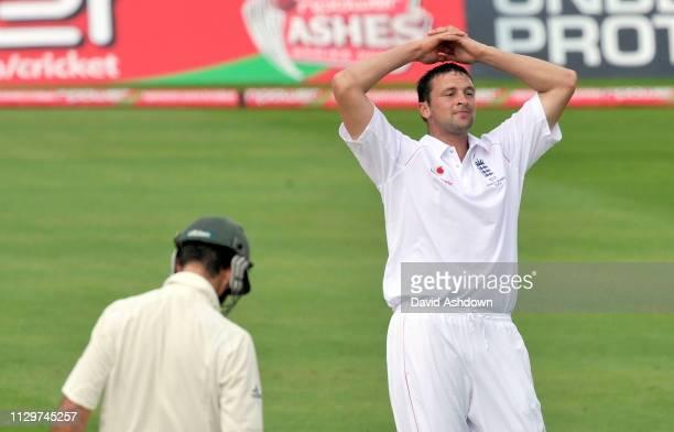 England v Australia 4th Test Headingley 1st Day. STEVE HARMISON. 7/8/09.