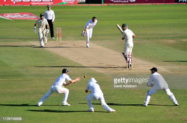 England v Australia 5th TEST AT THE OVAL. 4th DAY 23/8/09. MITCHEL JOHNSON OUT CAUGH PAUL COLLINGWOOD BOWLED STEVEN HARMISON.