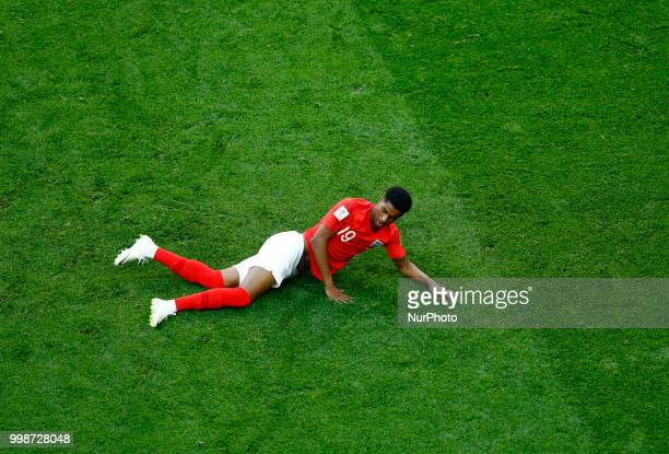 England v Belgium Play off for third place final FIFA World Cup Russia 2018 Marcus Rashford at Saint Petersburg Stadium in Russia on July 14 2018
