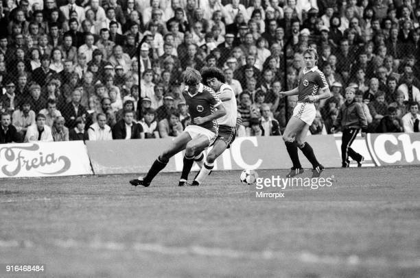 England V Norway, World Cup Qualifying match. Ullevaal Stadium in Oslo, Norway. Norway won 2-1, 9th September 1981.