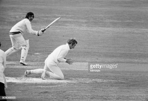 England v Pakistan 2nd Test 1st innings at Lords David Lloyd at silly point 8th July 1974