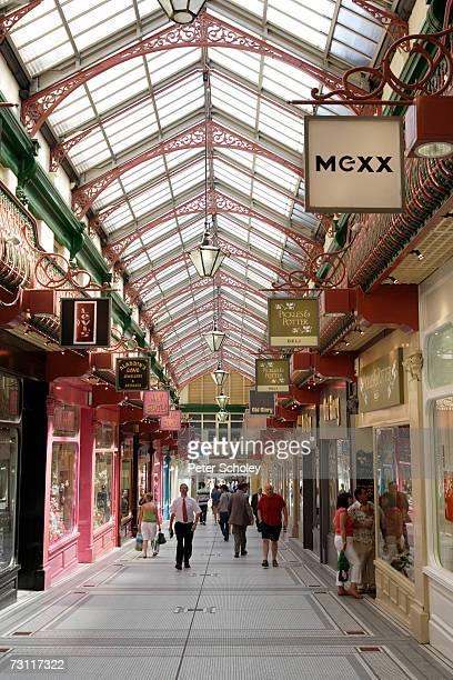England, West Yorkshire, Leeds, Queen's Arcade