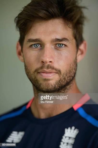 England wicketkeeper Ben Foakes pictured during England nets at Eden Park on March 20 2018 in Auckland New Zealand