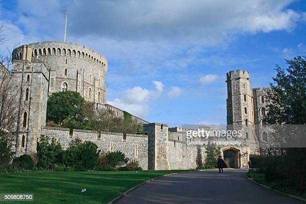 inglaterra : castillo de windsor - windsor distrito real de windsor y maidenhead fotografías e imágenes de stock