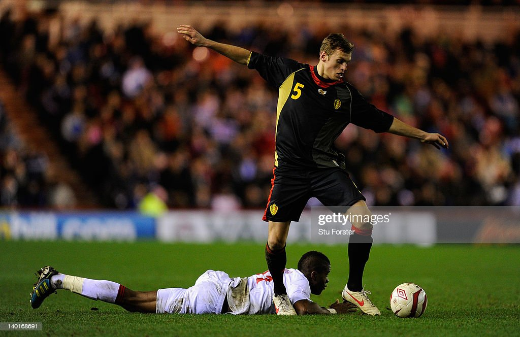 England v Belgium  - UEFA Under-21 Championship : News Photo