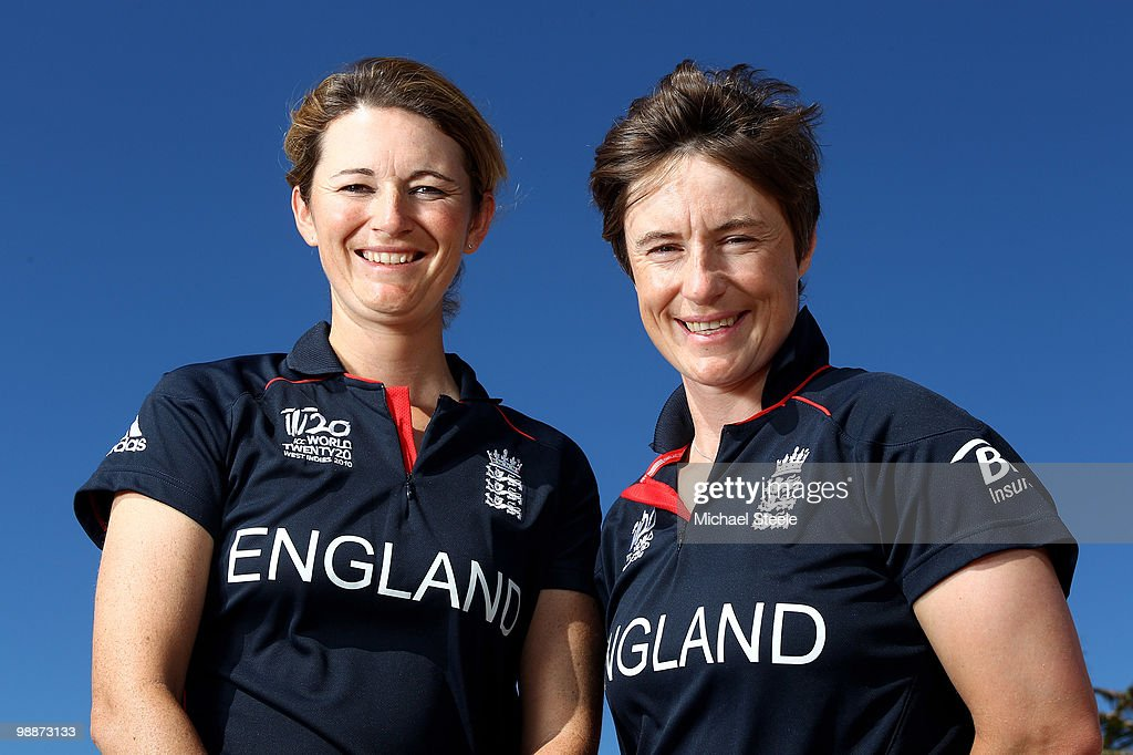 Charlotte Edwards And Claire Taylor Feature : News Photo