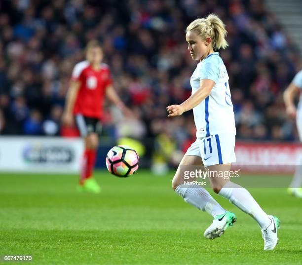 England Women's Isobel Christiansen during International Friendly match between England Women and Austria Women at Stadium MK Milton Keynes on 10...