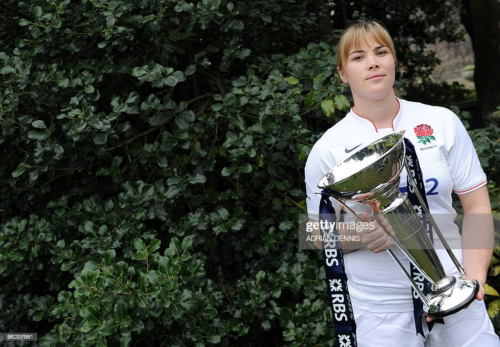 England women's rugby Captain Catherine : News Photo