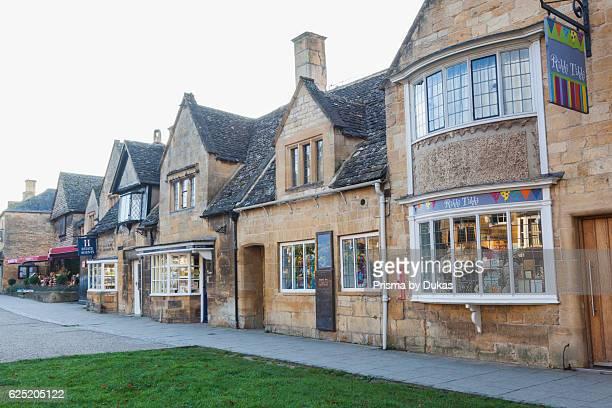 England Worcestershire Cotswolds Broadway Street Scene