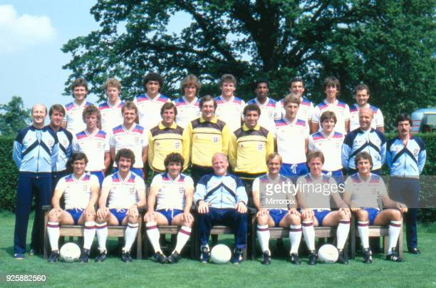 England World Cup Squad 8th June 1982
