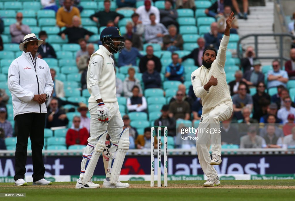England v India - Specsavers 5th Test - Day Five : News Photo