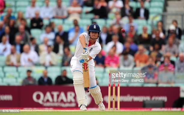 England's Alastair Cook bats against Pakistan