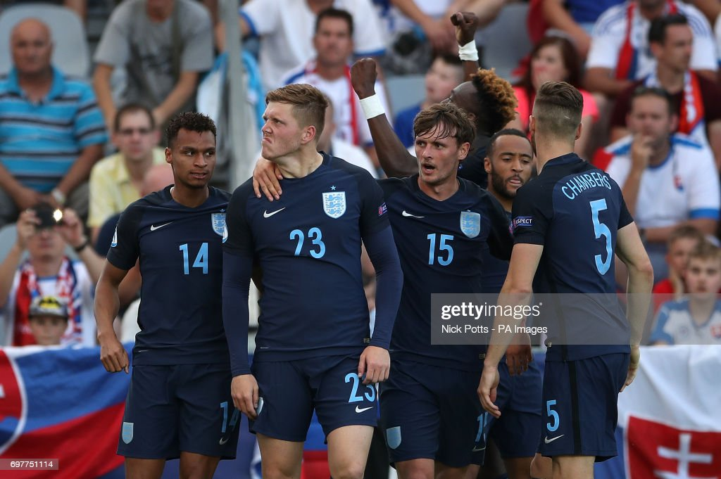 Slovakia v England - UEFA European Under-21 Championship - Group A - Kolporter Arena : News Photo