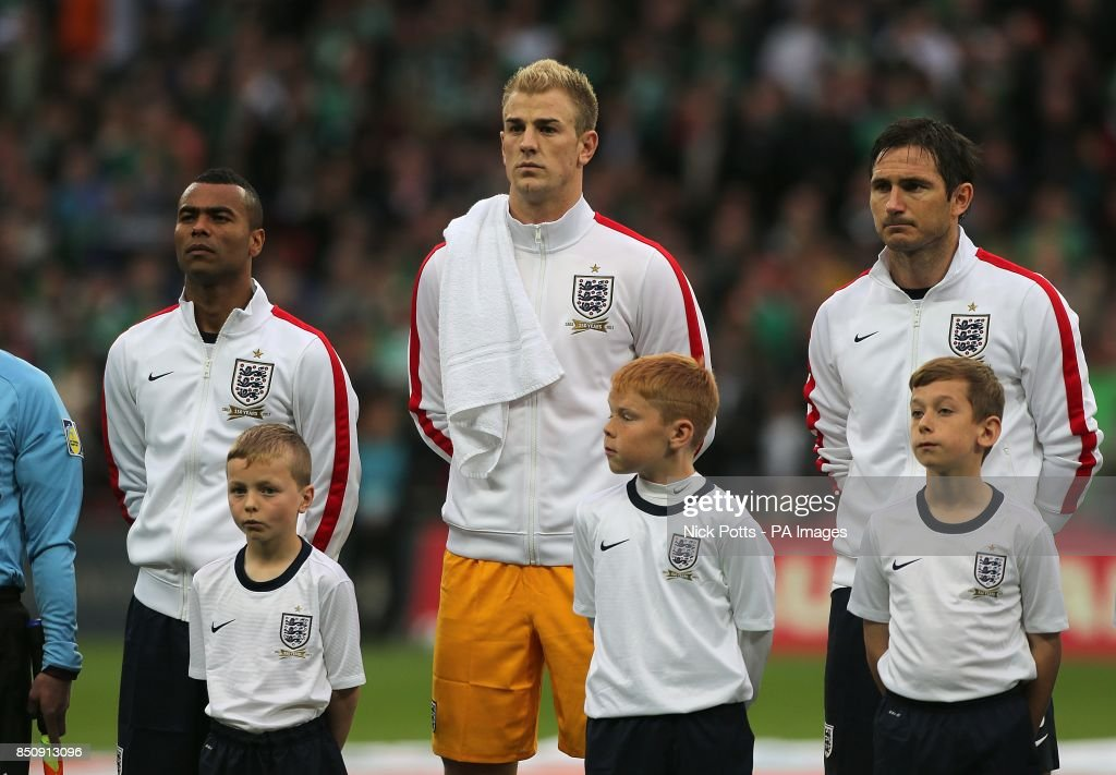 Image result for Frank Lampard and Ashley Cole England