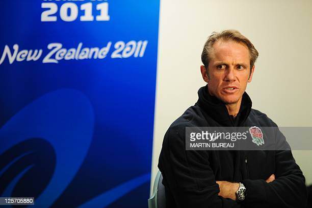 England's attack coach Brian Smith during a press conference on September 19 2011 in Dunedin during the 2011 Rugby World Cup AFP PHOTO / MARTIN BUREAU