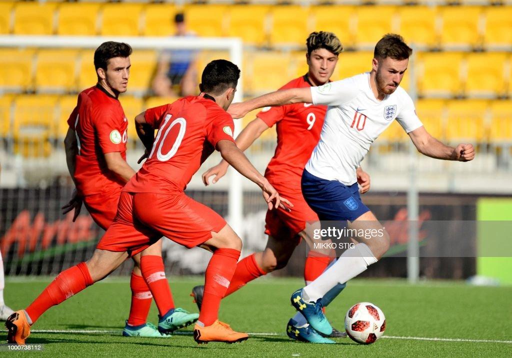 FBL-EURO-U19-TUR-ENG : Foto jornalística