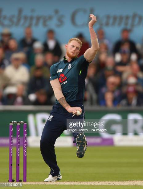 England's Ben Stokes during the One Day International match at Emerald Headingley Leeds