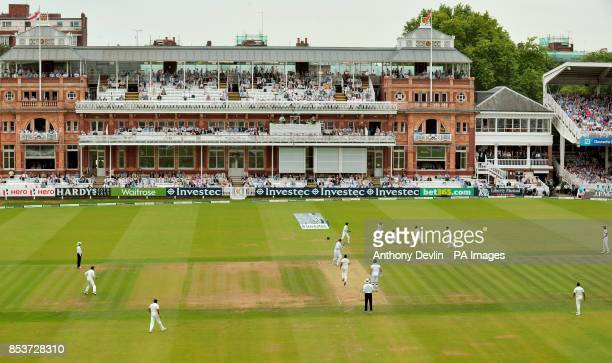 England's Ben Stokes is bowled out by India's Bhuvneshwar Kumar during day three of the second test at Lord's Cricket Ground London